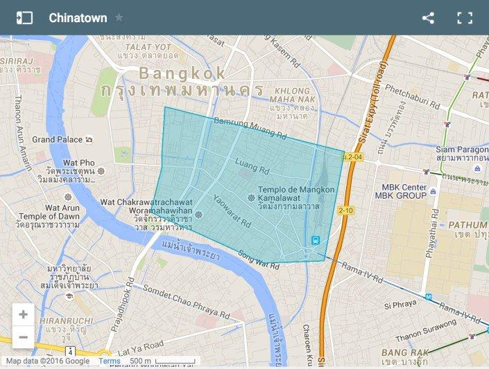 Dove alloggiare a Bangkok. Chinatown