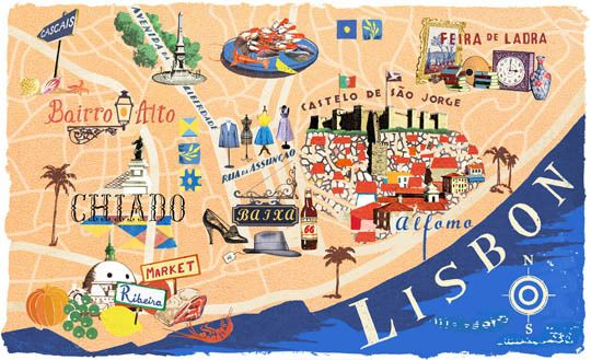 dove-dormire-a-Lisbona-mappa