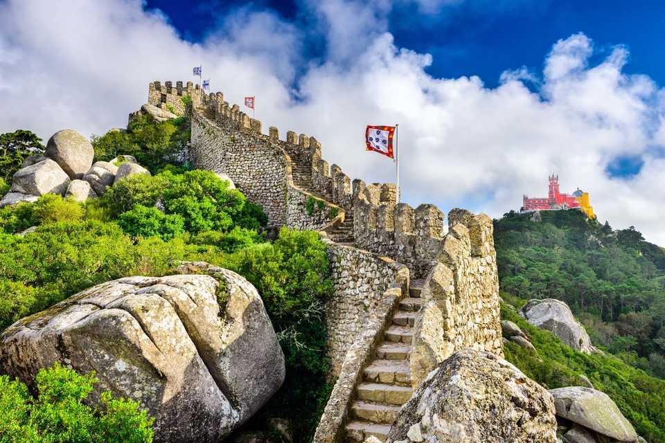 castello dei mori sintra portogallo