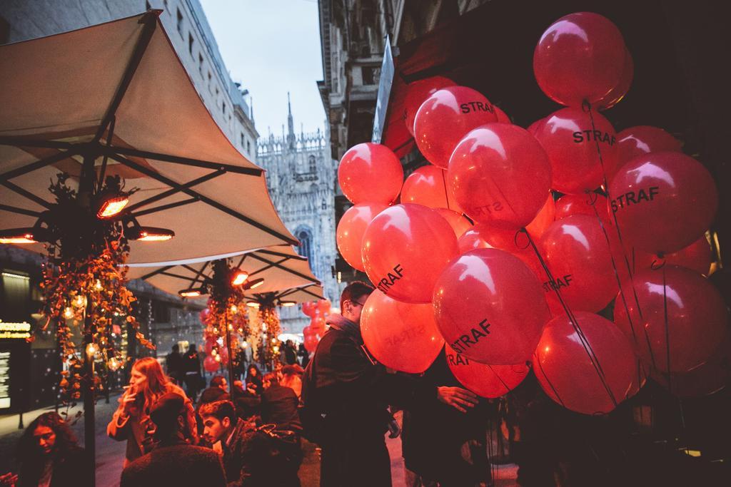 esempio di boutique hotel  STRAF Milano