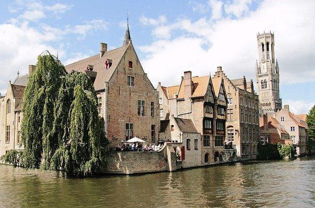 cosa vedere a Bruges Rozenhoedkaai Bruges