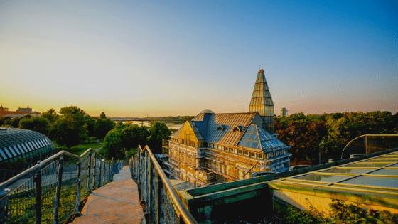 cosa vedere a varsavia biblioteca università di varsavia