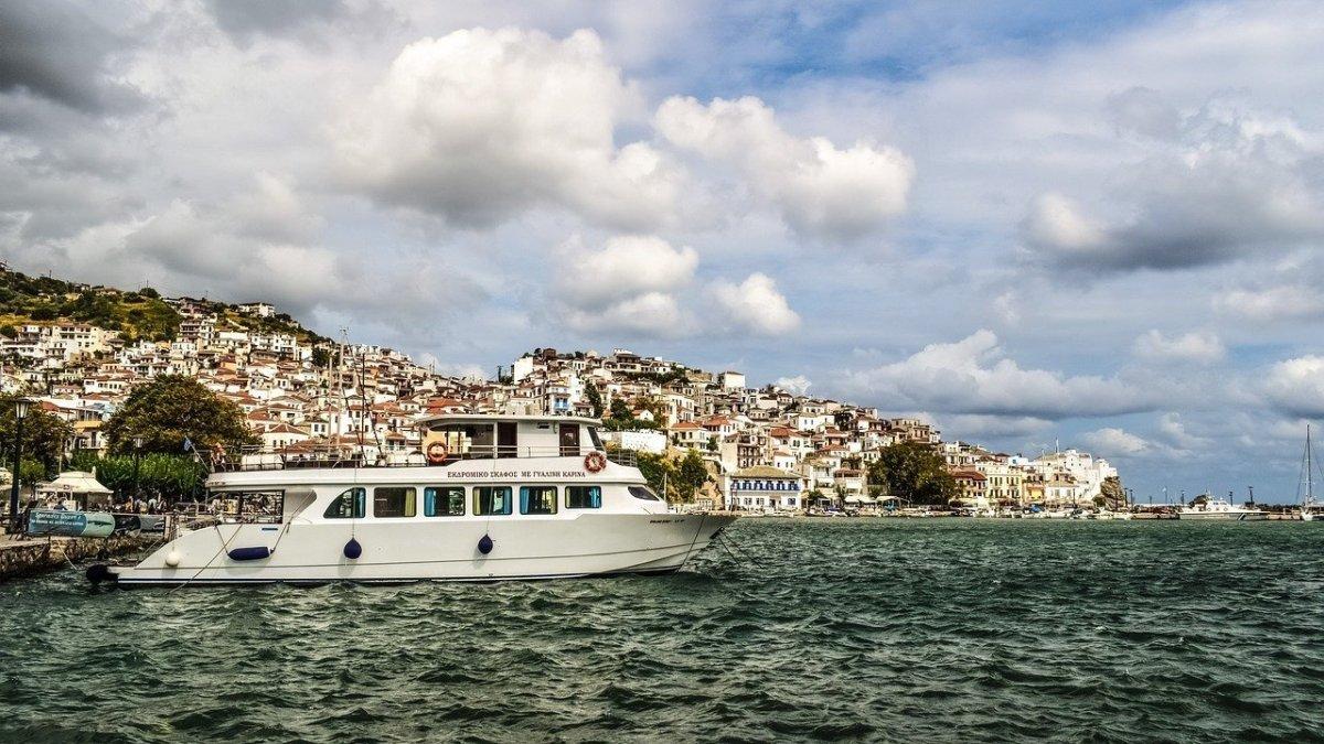 come arrivare a Skopelos