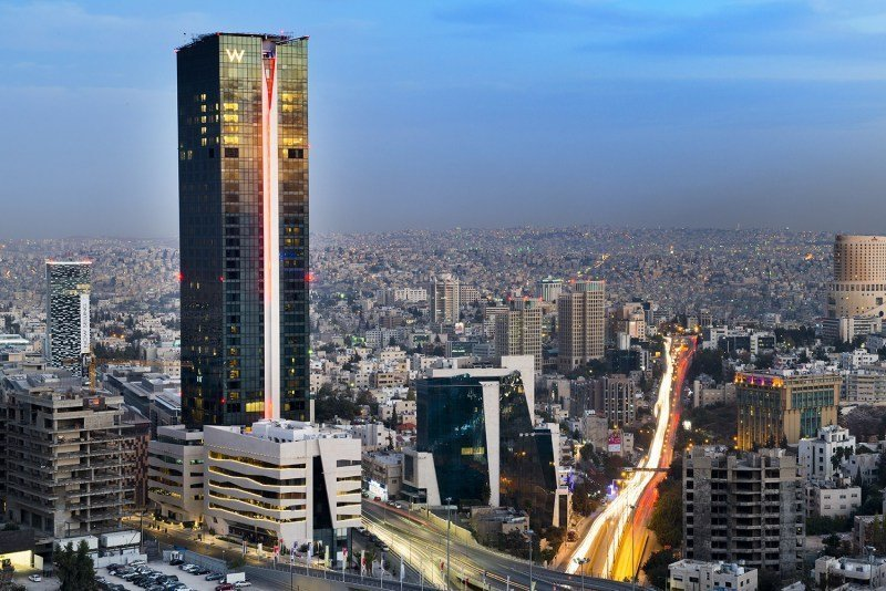 dove dormire ad Amman W Hotel