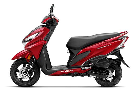 Honda Grazia, Honda Activa family