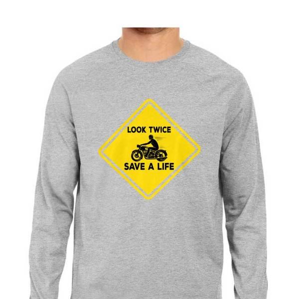 safe riding awareness biker full sleeves motorcycle shirt for men and women