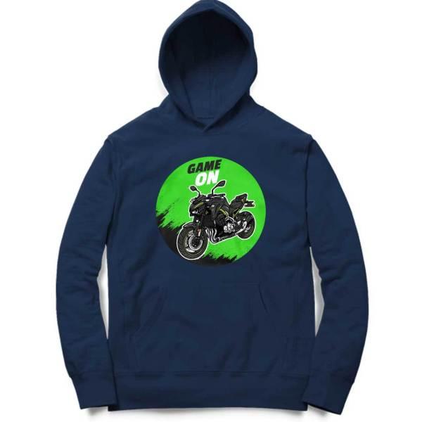 kawasaki ninja superbike motorcycle biker sweatshirt hoodie for men and women
