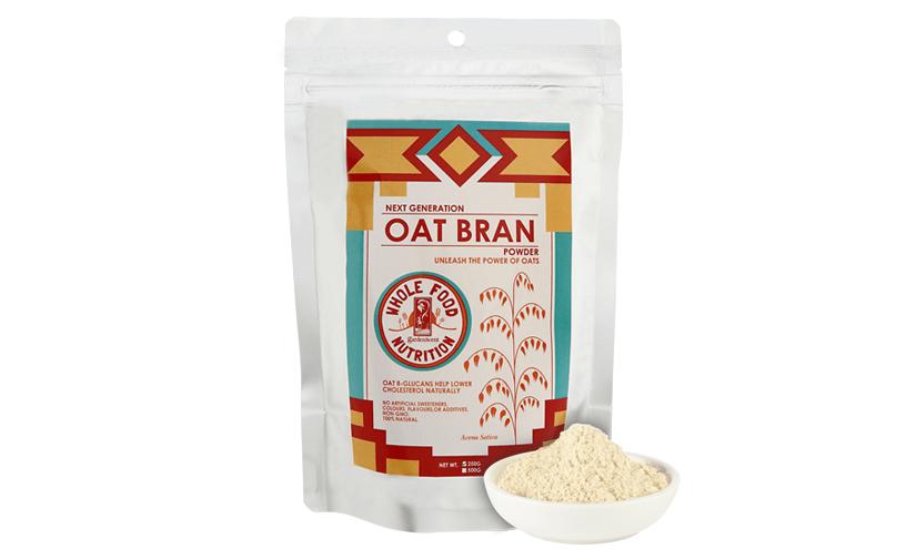 GardenScent Oat Bran Powder, lowers cholesterol naturally