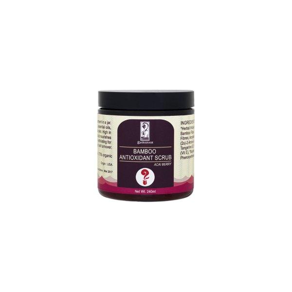 GardenScent Organic Acai Berry Bamboo Antioxidant Srub