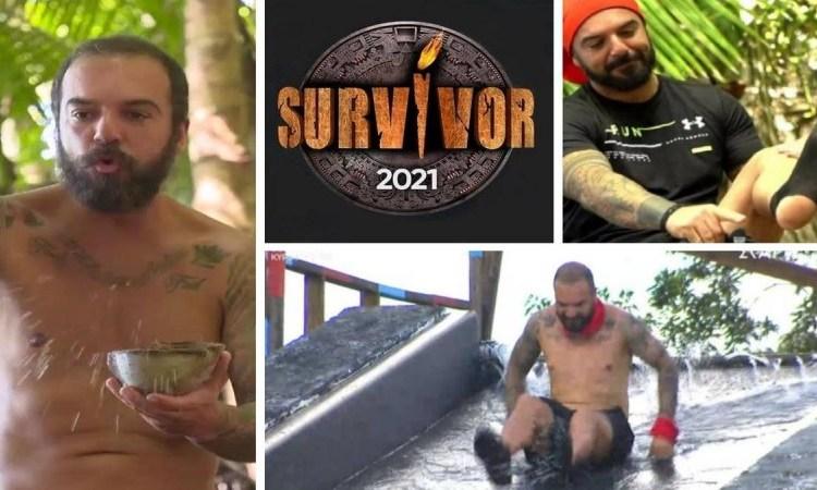 9+1 επικές στιγμές του Τριαντάφυλλου στο Survivor 4 που δεν θα ξεχάσουμε ποτέ!