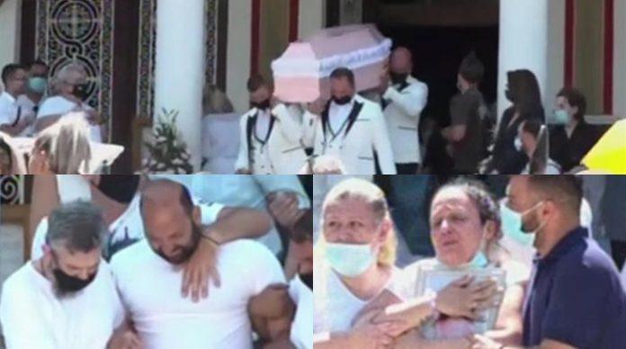 Κηδεία 7χρονης Παναγιώτας, Νίκαια: Ράγισε καρδιές η φωνή του πατέρα, κατέρρευσε η μάνα. Θρήνος