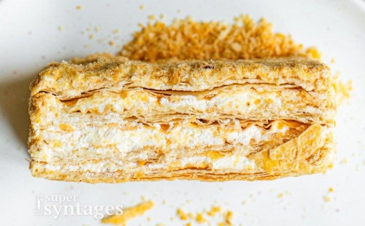 Μιλφέιγ με κρέμα πατισερί, ανεπανάληπτη γεύση!