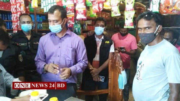 হোসেনপুরে দুই প্রতিষ্ঠানেভ্রাম্যমান আদালতে ৪৫ হাজার টাকা জরিমানা