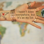 wanderlust about me