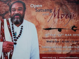 sri mooji, satsang in india, meetings in truth,
