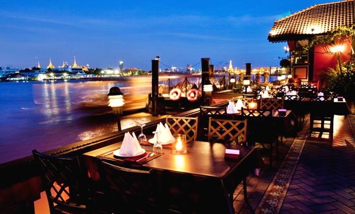 bangkok, thailand,sumatra,river,house,restaurant