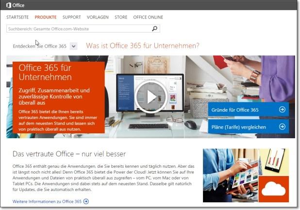 Microsoft spricht viel über Office 365, bringt aber nur wenig auf den Punkt.