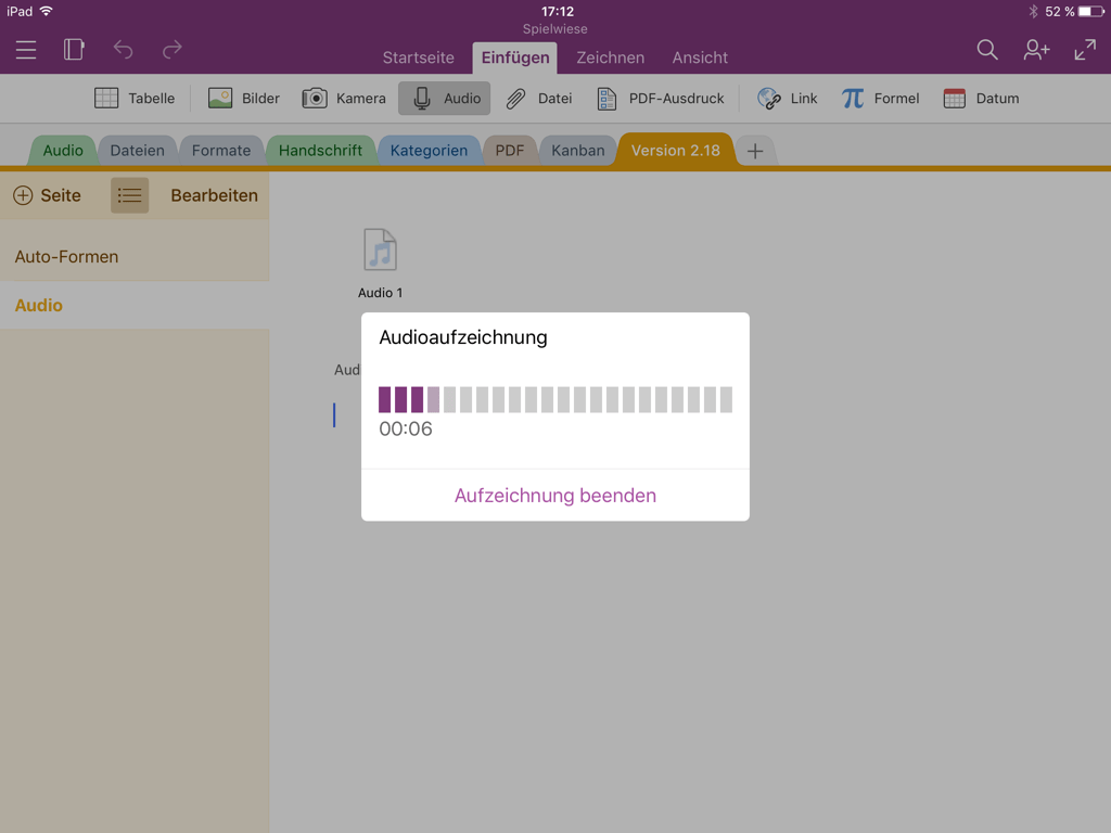 onenote f r ios coole neue features aber onenote. Black Bedroom Furniture Sets. Home Design Ideas