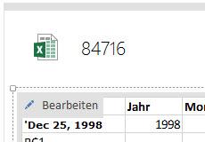 """Etwas irreführend: Der """"Bearbeiten""""-Button an der Excel-Tabelle lädt diese lediglich ins """"richtige"""" Excel. Das Bearbeiten innerhalb von OneNote ist nicht möglich."""