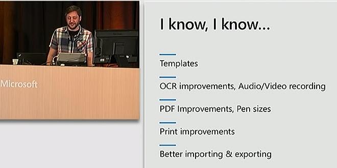 Die kommenden Features in OneNote für Windows 10