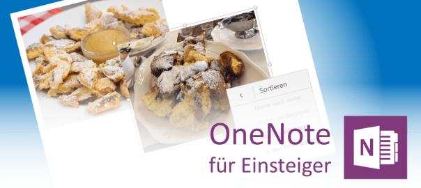 Bilder in OneNote einfügen - Teaser