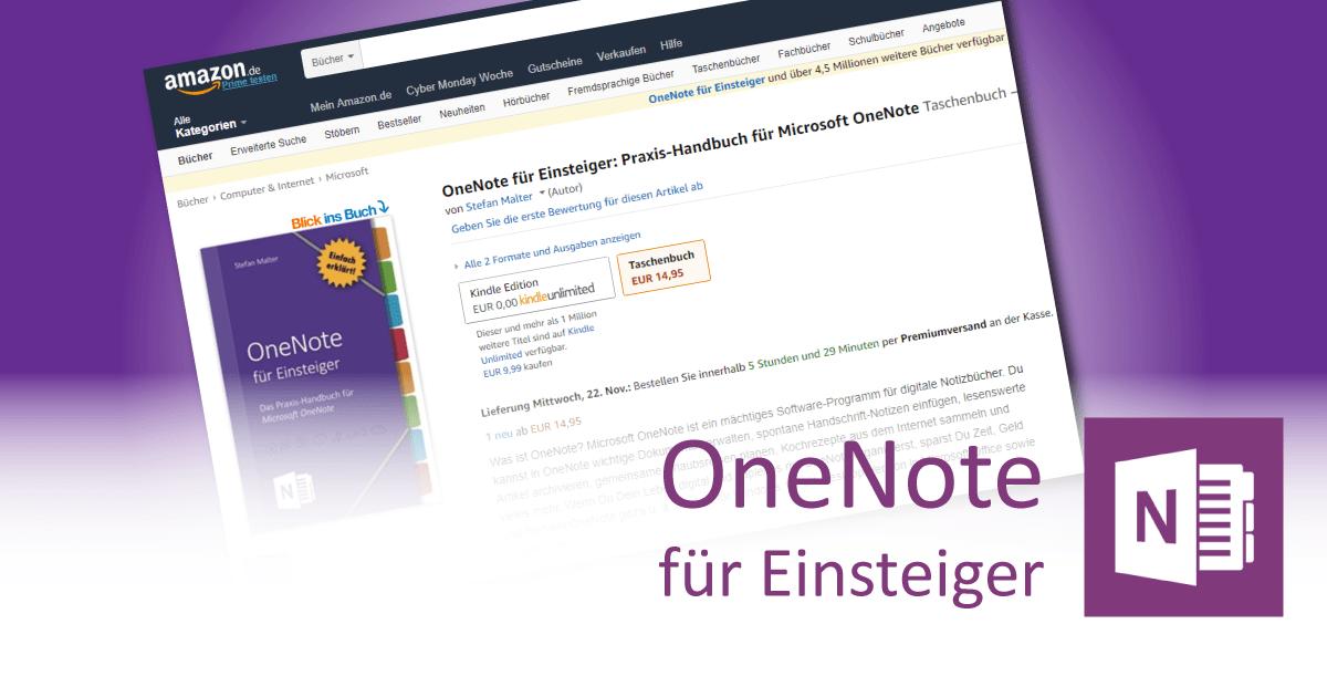 OneNote-Handbuch - Teaser