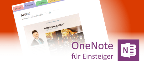 Office Lens mit OneNote - Teaser