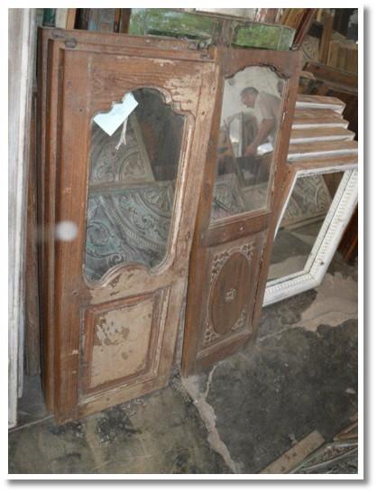 Large Wood Mirror (033) Image