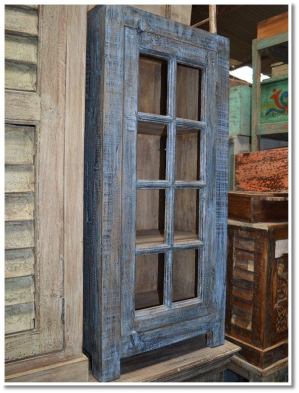 Glass Front Cabinet (039) Image