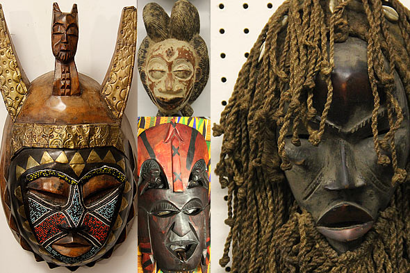 African Masks One Of A Kind Africa African Art In Hyde Park Chicago