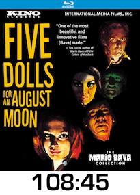 Five Dolls for an August Moon Blu-ray Review