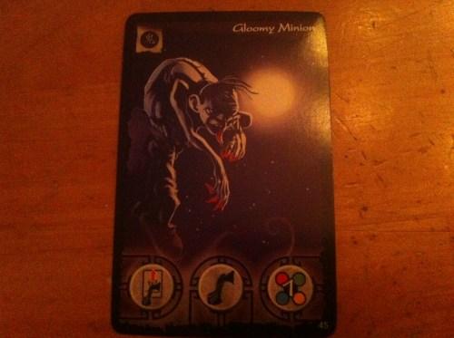 Gloomy Minion Card