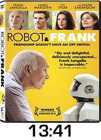 Robot and Frank DVD Review