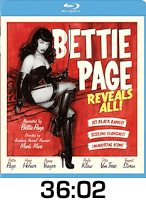 Bettie Page Reveals All Blu-ray Review