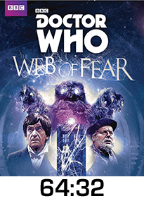 Dr Who Web of Fear DVD Review