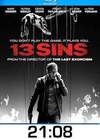 13 Sins Bluray Review