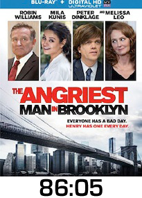 Angriest Man in Brooklyn Bluray Review