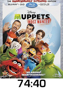 Muppets Most Wanted Bluray Review