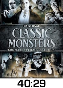 Classic Monsters Collection DVD Review