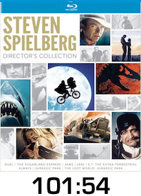 Steven Spielberg Collection Bluray Review