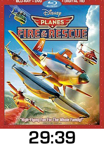 Planes Fire Rescue Bluray Review
