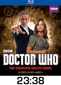 Doctor Who Series Eight Bluray Review