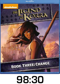 Legend of Korra Book 3 Bluray Review