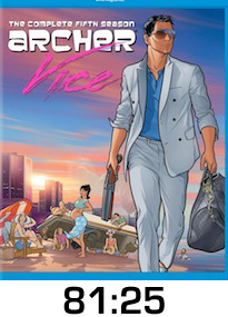 Archer Vice Bluray Review