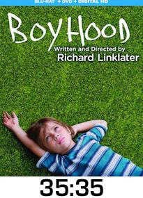 Boyhood Bluray Review
