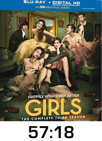 Girls Season 3 Bluray Review