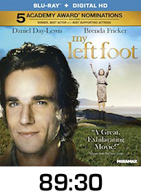 My Left Foot Bluray Review