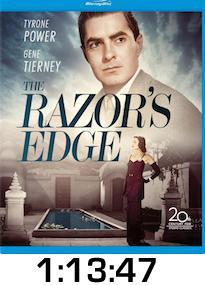Razors Edge Bluray Review