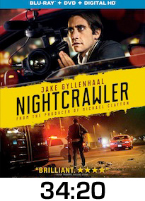 Nightcrawler Bluray Review