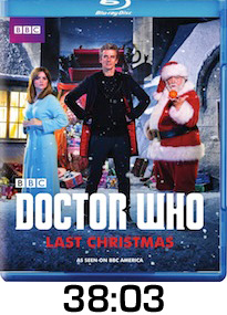 Doctor Who Last Christmas Bluray Review